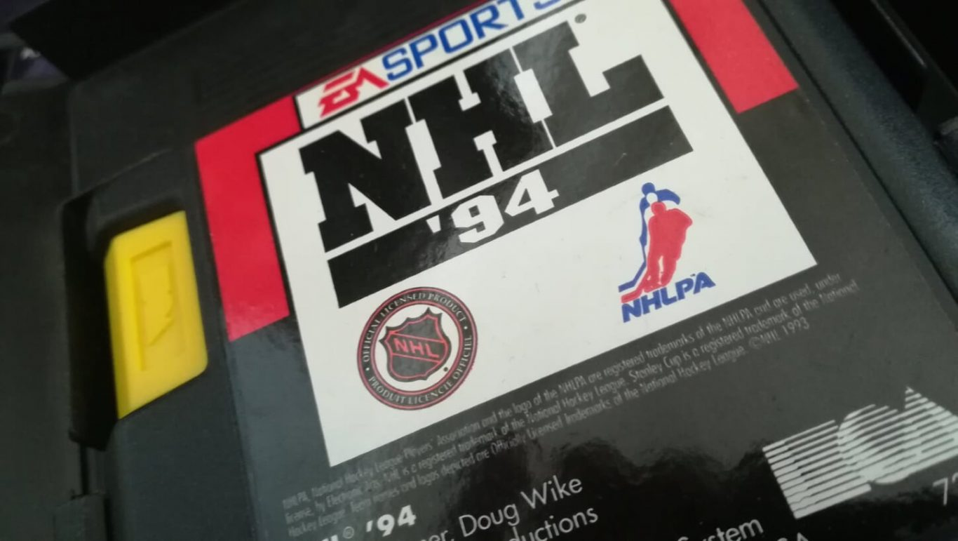 NHL 94 for Sega Mega Drive by Electronic Arts