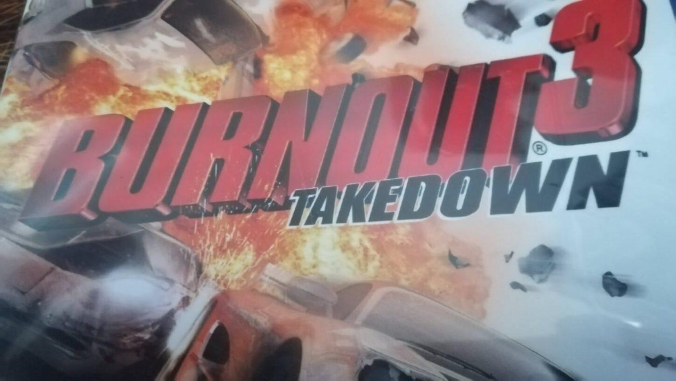Burnout 3 Takedown cover