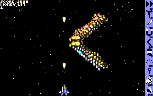 Cash Invaders screenshot PC DOS