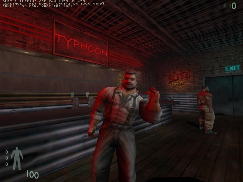 Screenshot from Kingpin FPS retro PC game