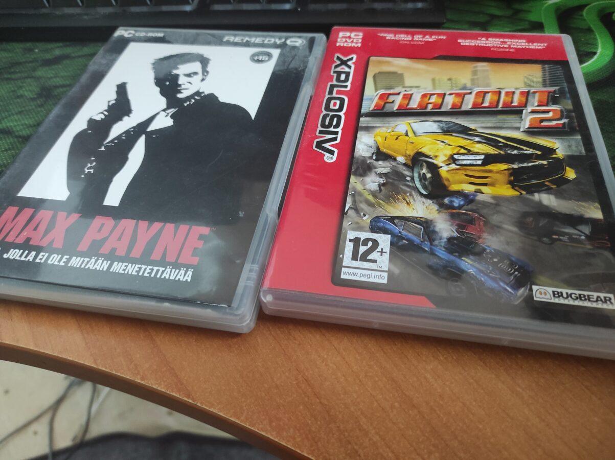 Max Payne and Flatout 2