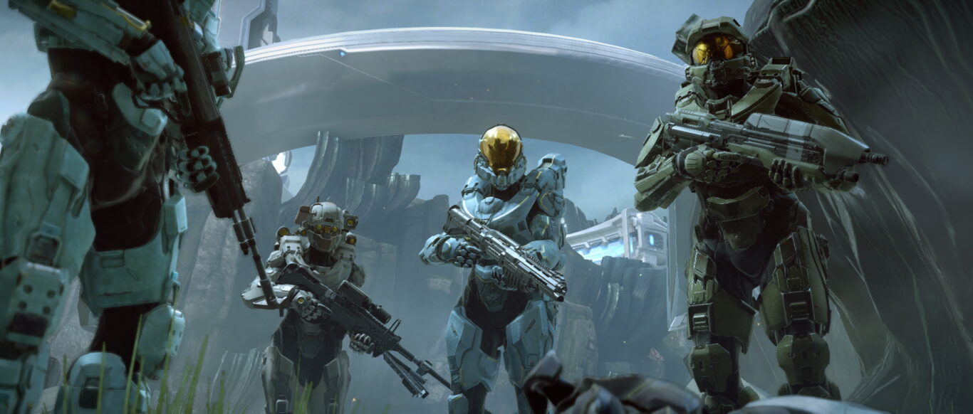 Screenshot from Halo 5 on Xbox Series S
